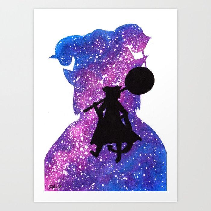Cosmic Jester Art Print