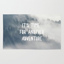 THROUGH THE FOG - IT'S TIME FOR ANOTHER ADVENTURE Rug