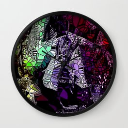 Glass Pose Wall Clock