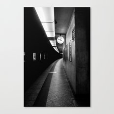 Brussels Station Canvas Print