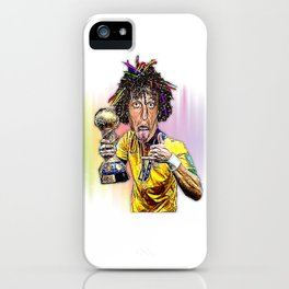 David Luiz iPhone Case