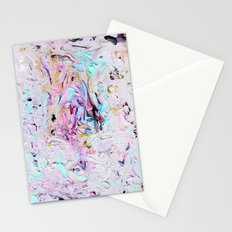 Finger Paint Stationery Cards