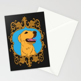 Olliver the Golden Retriever Mix Stationery Cards