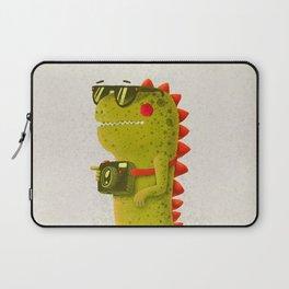 Dino touristo (olive) Laptop Sleeve