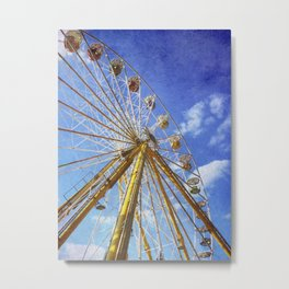 At the Funfair (3) Metal Print