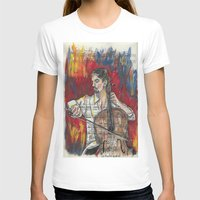 cello T-shirts featuring Cello 1 by Ed Rucker