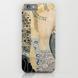Gustav Klimt - The Hydra - Digital Remastered Edition iPhone Case