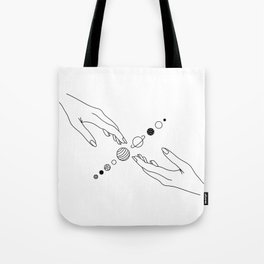 Planets Align Tote Bag