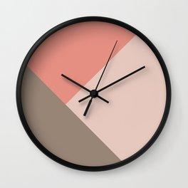 Geometric Summer Glam #2 #minimal #geo #decor #art #society6 Wall Clock