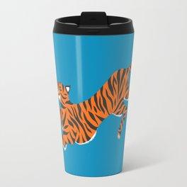 Blue Tiger Travel Mug