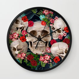 tropical scary  Wall Clock