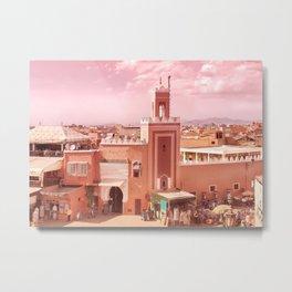 Fantastic Marrakech Metal Print