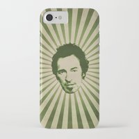 springsteen iPhone & iPod Cases featuring The Boss by Durro
