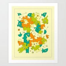 INNER-FORMATIONS (3) Art Print
