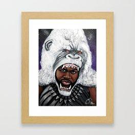 M'Baku Framed Art Print