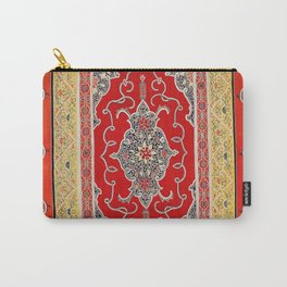 Rasht Gilan North Persian Embroidery Print Carry-All Pouch