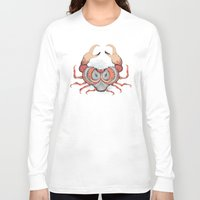 cancer Long Sleeve T-shirts featuring Cancer by Vibeke Koehler