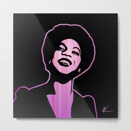 Nina Simone | Pop Art Metal Print