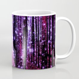 Magical Forest Pink & Purple Coffee Mug