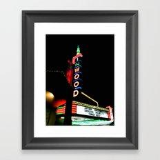 Inwood Theatre Framed Art Print
