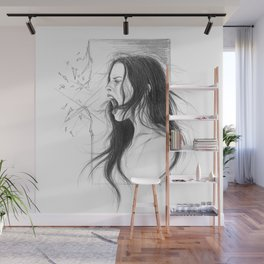 Pain into anger Wall Mural