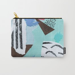 pastels paper collage Carry-All Pouch