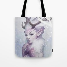 Reindeer Princess Tote Bag