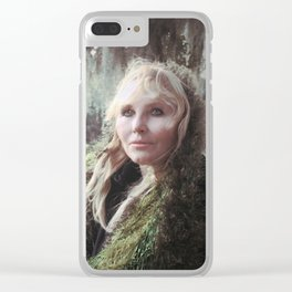"VAMPLIFIED ""Willow Wisp"" Clear iPhone Case"