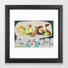 SLUGS Framed Art Print