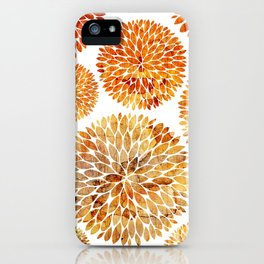Floral Blaze iPhone Case