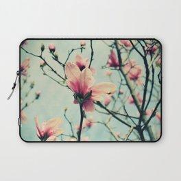 Magnolia Blossoms Laptop Sleeve