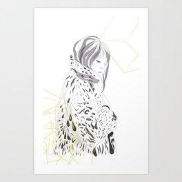 Mosshart Art Print