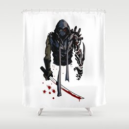 Ninja Gaiden Shower Curtain