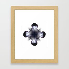 THOK x sabbaths - Soul Flower Framed Art Print