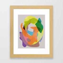 O Waves Framed Art Print