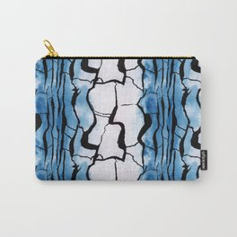 Watercolour Bark 4 Carry-All Pouch