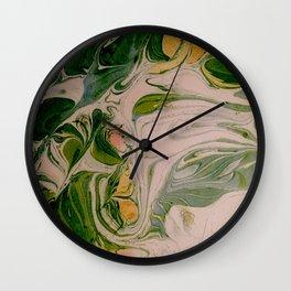 Liquid Forest Wall Clock