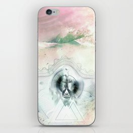 Encircles the world iPhone Skin