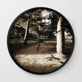 Hidden Path Wall Clock