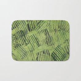 Green lines Bath Mat