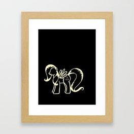Shutter Fly Framed Art Print