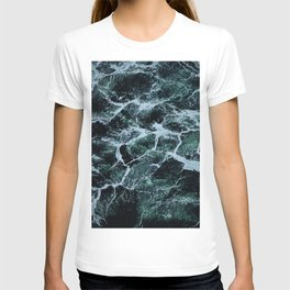 Waves Marble (Color) T-shirt