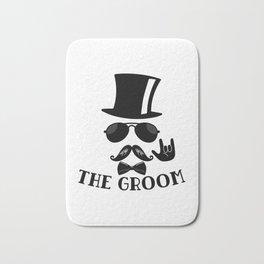 The Groom Bath Mat