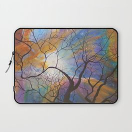 Space Tree Galaxy Painting Orion's Nebula Original Art (Dust in the Wind) Laptop Sleeve