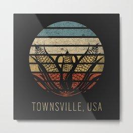 Townsville, USA Metal Print