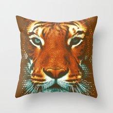 BE WILD Throw Pillow