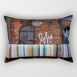 Love. Dumbo Brooklyn Rectangular Pillow