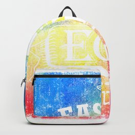 Easter Egg Hunt Color Design Ideas Creative and Unique For Everyone Style Backpack