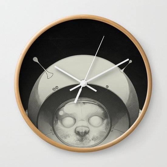 Space Kitty Wall Clock