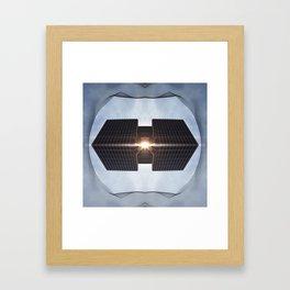 HYPER CUBE II Framed Art Print